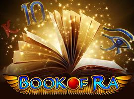 Traditionelle Version des Spiels Book of Ra Novoline