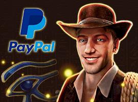 Bewundern Sie die Geheimnisse des immer frischen Glanzlicht Book of Ra PayPal